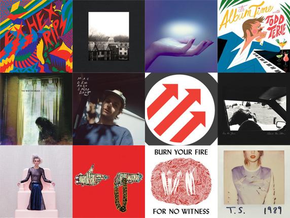 Pitchfork Albums 2014